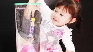 [ENG SUB] 로봇피쉬 인어공주 수족관 장난감 놀이 Robot Fish Little Mermaid Toys Play Игрушки おもちゃ 라임튜브
