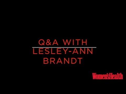 LesleyAnn Brandt Q&A