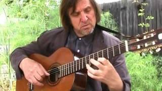 E.Shilin - Choro #3. Guitar - tirando.