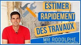 ESTIMER SIMPLEMENT ET RAPIDEMENT DES TRAVAUX DE RÉNOVATION !!!