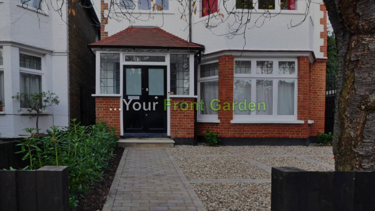 Garden Ideas front garden in London 3_Bamboo Landscaping - YouTube