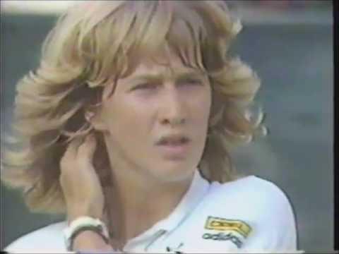 Steffi Graf vs. Claudia Kohde-Kilsch / A Island 1986