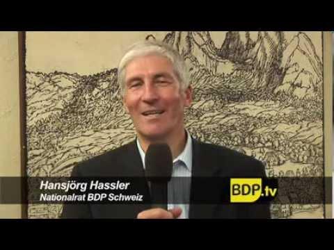 BDP Nationalrat Hansjörg Hassler zu persönlichen Wahlkampferfahrungen