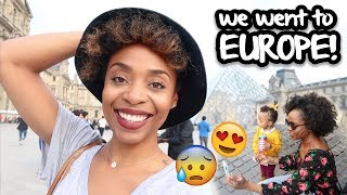 MY REAL LIFE  | EP 58 - 9 DAYS IN EUROPE WITH ANNE & ALEX!