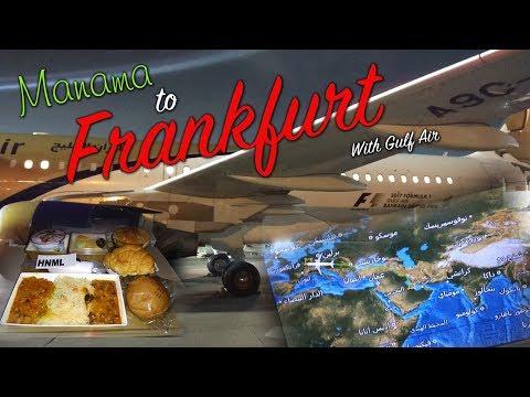 Gulf Air Economy Class -  Bahrain to Frankfurt GF17 A320 | Wandering Wanderlust
