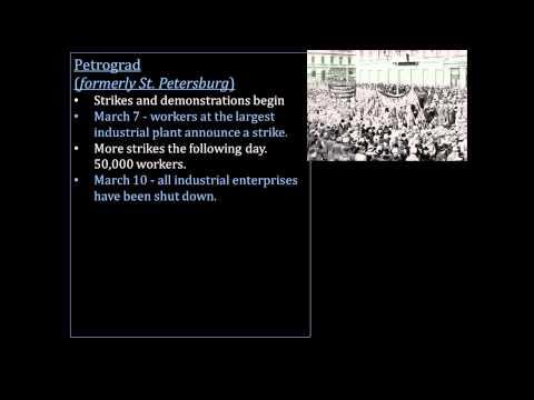 The Russian Revolution - February Revolution