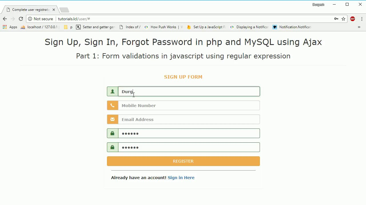 Validating a form using javascript regular expressions numbers