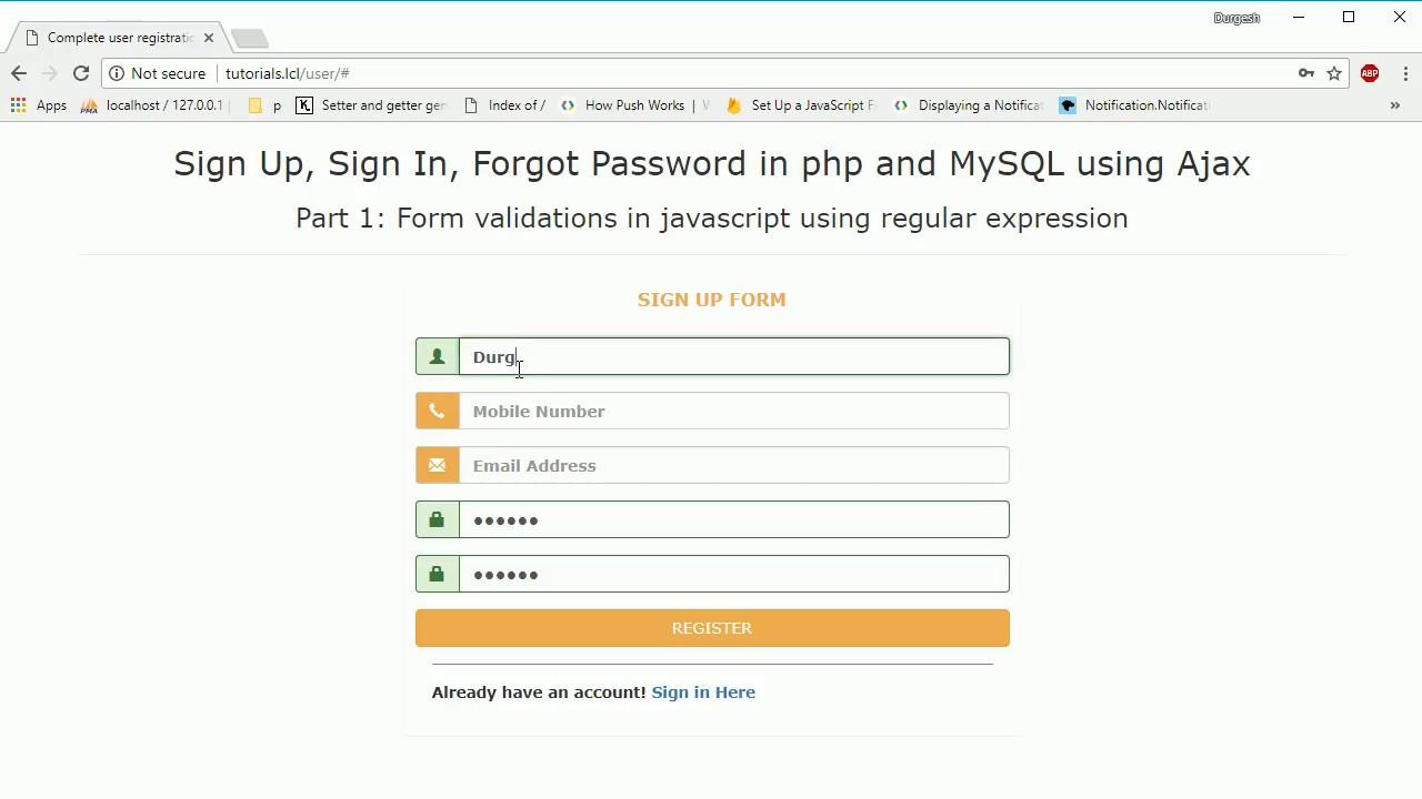 Validating email address using javascript in pdf