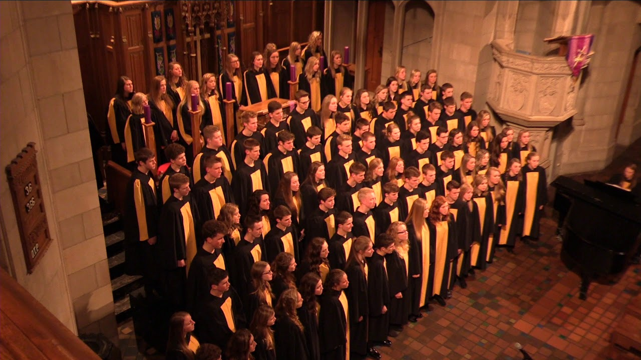 He is Alive Covenant Christian High School Choir at Fourth Presbyterian  Church in Chicago Joel Raney