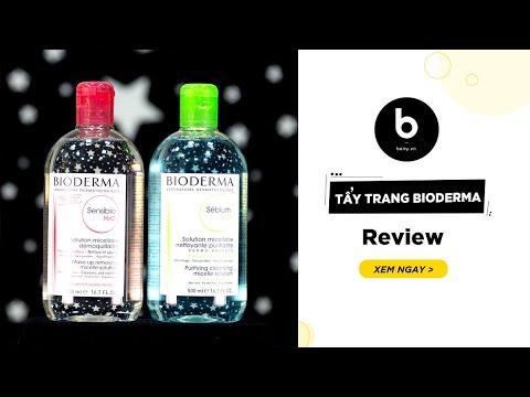 Tẩy Trang Bioderma – Review Chi Tiết Và Hướng Dẫn Sử Dụng