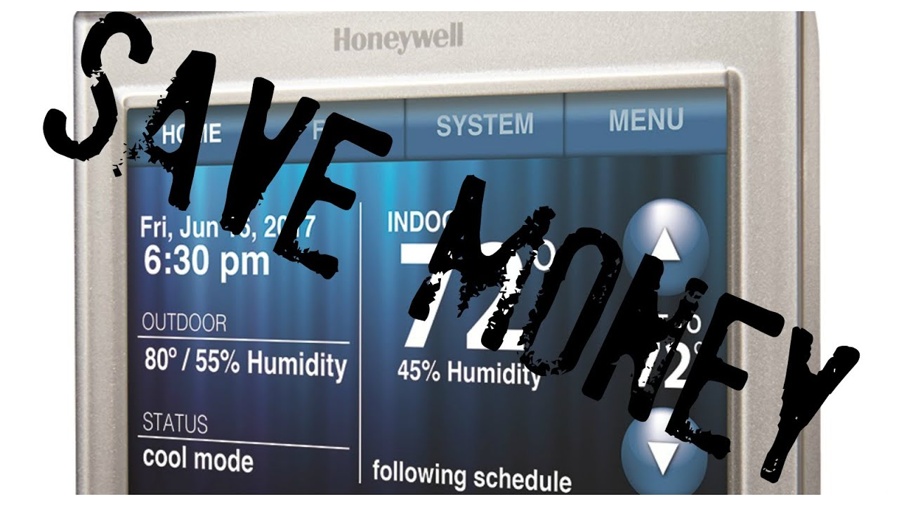 Honeywell Smart Wifi Thermostat Setup And Use Youtube Home Wiring