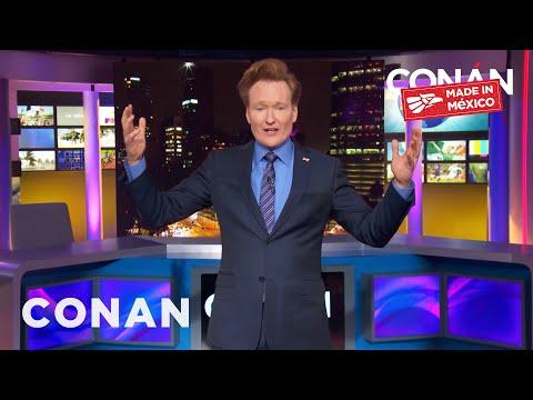 """Conan's """"Made In Mexico"""" Monologue En Español"""