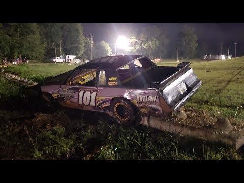 East Alabama Motor Speedway 2018 | Road Warrior 101 Car | Sam Shelley
