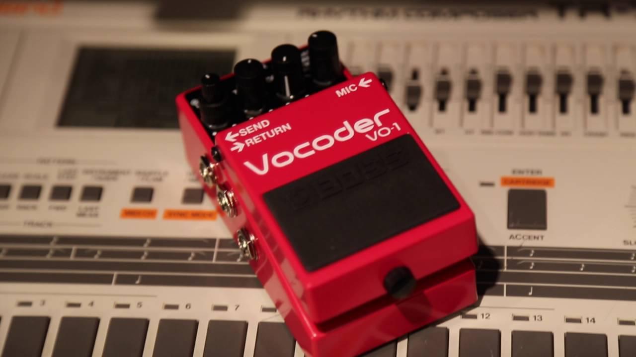boss vo 1 vocoder guitar pedal vintage king youtube. Black Bedroom Furniture Sets. Home Design Ideas