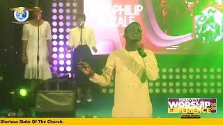 Philip Adzale at Harvest Worship Experience 2020, Kumasi