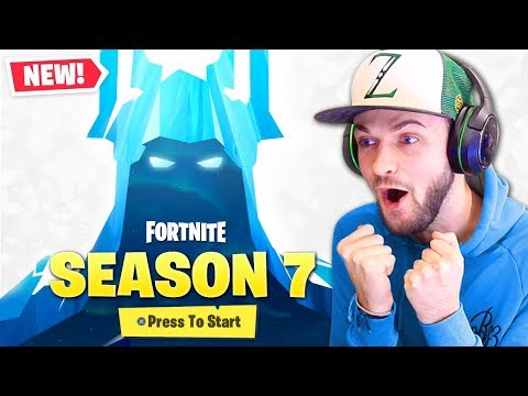 FIRST LOOK at *SEASON 7* in Fortnite!