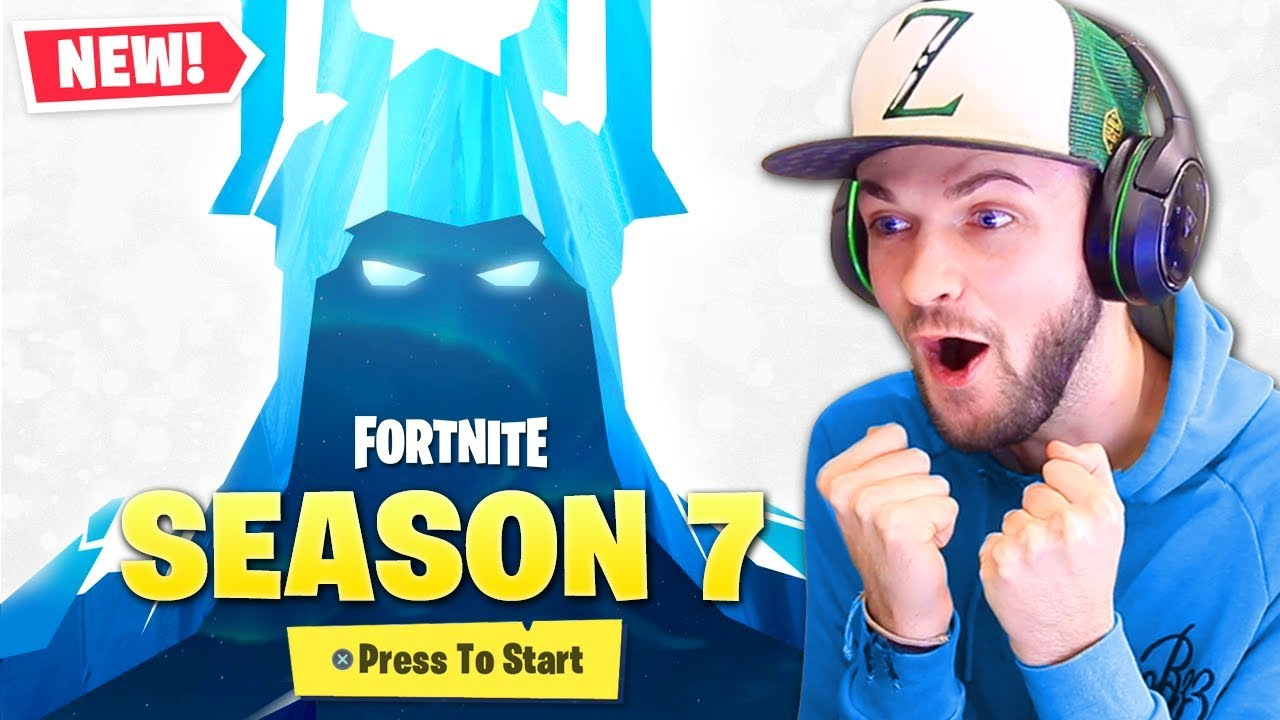 First Look At Season 7 In Fortnite Youtube
