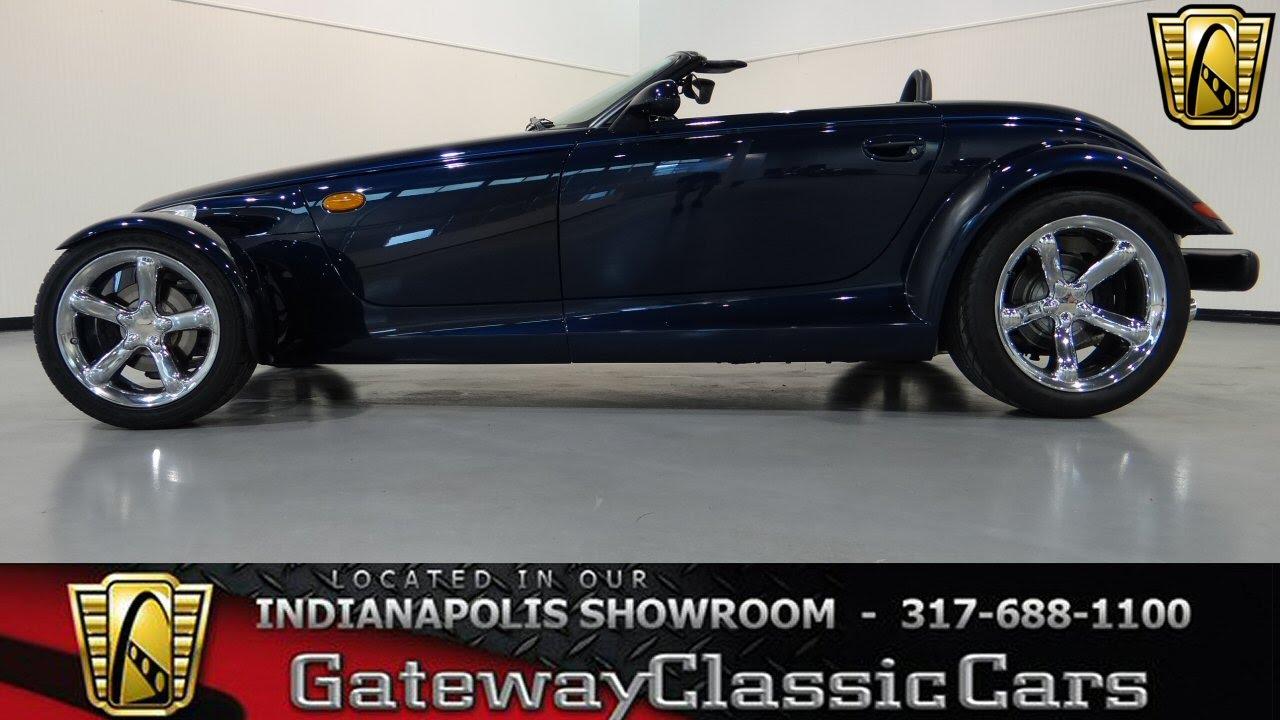 2001 Chrysler Prowler Mulholland Edition Gateway Clic Cars Indinanapolis 316 Ndy You