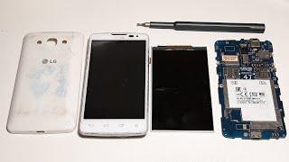 Restoration old LG L60 Dual X135 | Rebuild broken phone | Restore old smart device. Old Nokia