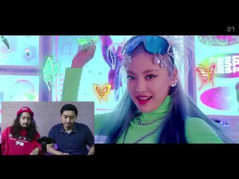 NON K-POP REACT TO AESPA BLACK MAMBA MV