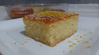Revani Tarifi/Şerbetli İrmik Tatlısı/Tam Ölçülü Revani Tarifi/Seval Mutfakta