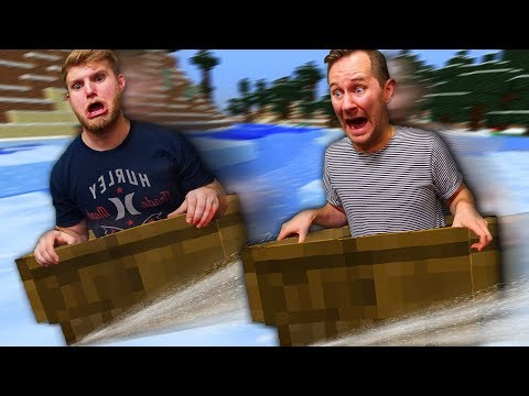 ICE BOAT RACING! | Minecraft [Ep 5]