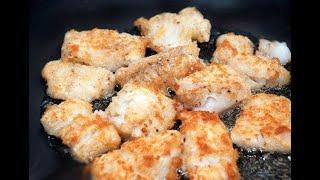 Жаренный Минтай. Как правильно пожарить минтая. ПРОСТОЙ Рецепт приготовления рыбы МИНТАЯ.