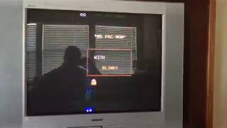 CRT TV Vertical Game Issues (50hz)