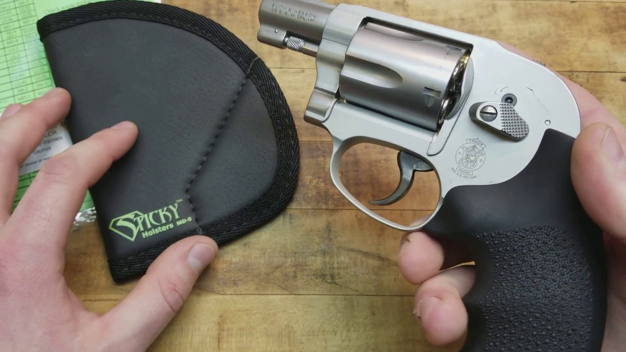 STICKY HOLSTERS FOR J FRAME REVOLVERS