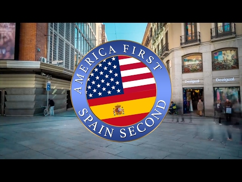 SPAIN SECOND | A message for President Donald Trump