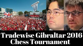Tradewise Gibraltar Notable games including Hikaru Nakamura and Maxime Lagrave
