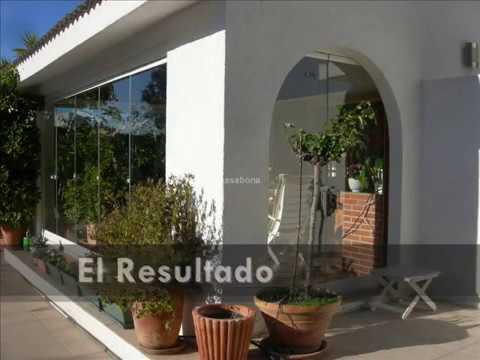 Proyecto de acristalamiento de porches kasabona youtube for Acristalamiento de porches