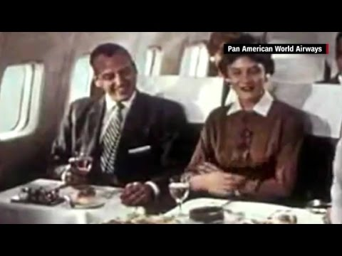 The 'golden age' of airline travel