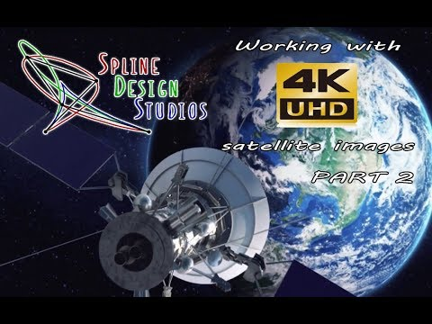 Working with UHD Satellite images PART 2