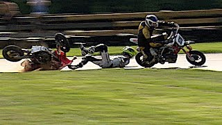 Ready... Steady... CRASH! Drama and Race Incidents from the British Minibikes Championship