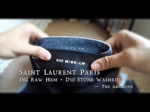 Saint Laurent Paris Denim D02/D10 Review - The Archiive