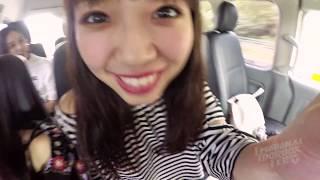 エモフェス開始前に、沖縄に行ってきました! タクシーで移動中の様子を...