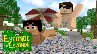 Minecraft: QUARTO TAZERCRAFT! (Esconde-Esconde)