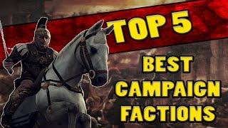 Top 5 BEST FACTIONS in Total War: Rome 2 (CAMPAIGN)