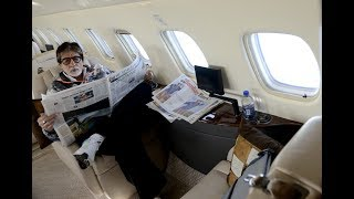 Amitabh Bachchan leaves for Malta to start shooting for 'Thugs of Hindostan'