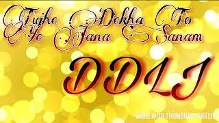 Tujhe Dekha To Ye Jana Sanam DDLJ Guitar Tone Ringtone Tune Leads Tabs by Rudraksh Srivastava