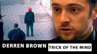 Derren Brown Controlling Someone Walking -  Trick of the Mind
