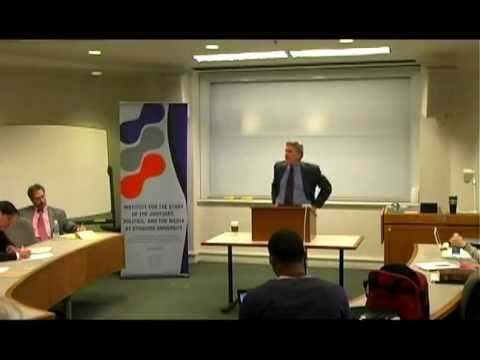 Robert Freeman:  Law, Politics, and the Media Lecture Series 2010