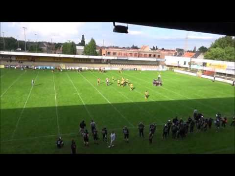 Belgian Bowl 29 - Ostend Pirates vs Brussels Black Angels - Q1