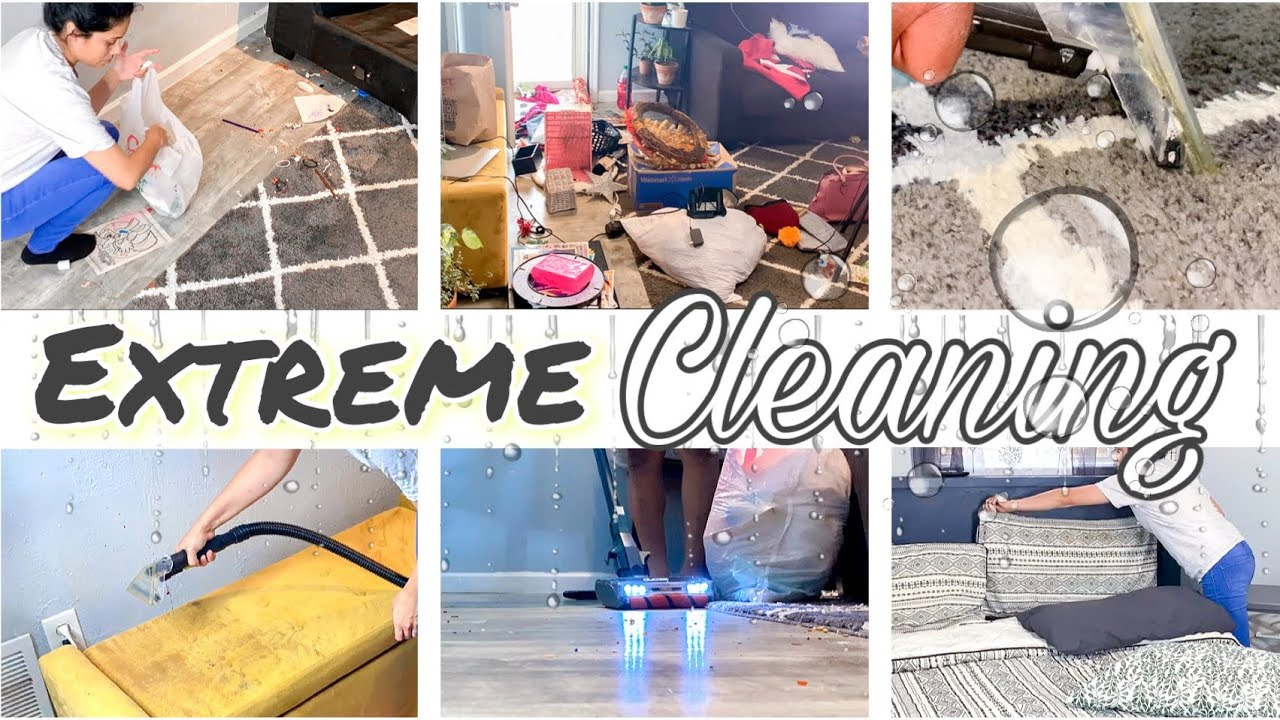 Extreme Motivational Cleaning Video | Real Life Cleaning | Clean With Me and Declutter | Satisfying