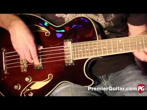 Review Demo - Ibanez Artcore AGB205 Bass