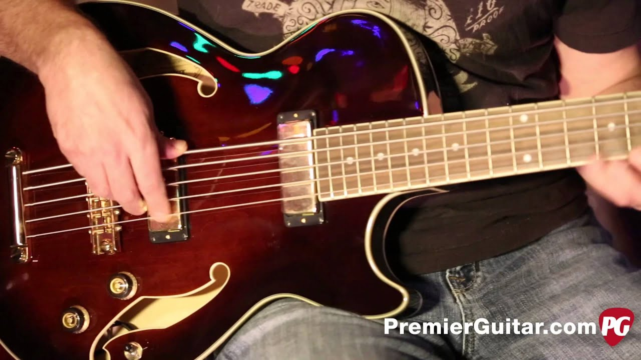 review demo ibanez artcore agb205 bass youtube. Black Bedroom Furniture Sets. Home Design Ideas