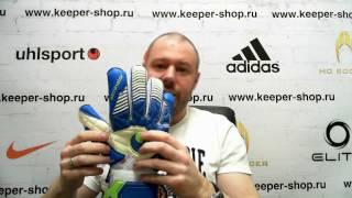 Вратарские перчатки UHLSPORT ELIMINATOR AQUASOFT OUTDRY(Обзор вратарских перчаток от keeper-shop.ru http://keeper-shop.ru/product_info.php?products_id=1958., 2017-03-07T11:09:00.000Z)