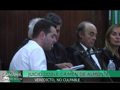 VEREDICTO JUICIO DOBLE CRIMEN DE ALMONTE 6-10-2017