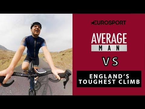 Average Man V England's Toughest Climb   Cycling   Eurosport